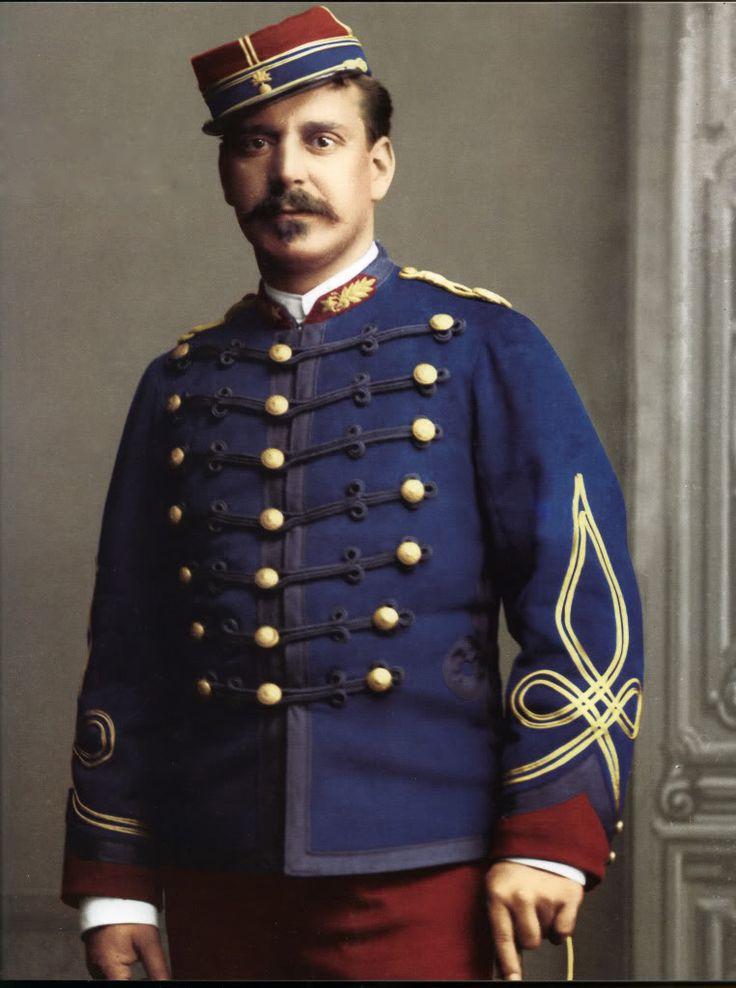 Teniente Agustin Benitez. Regimiento de Granaderos a Caballo