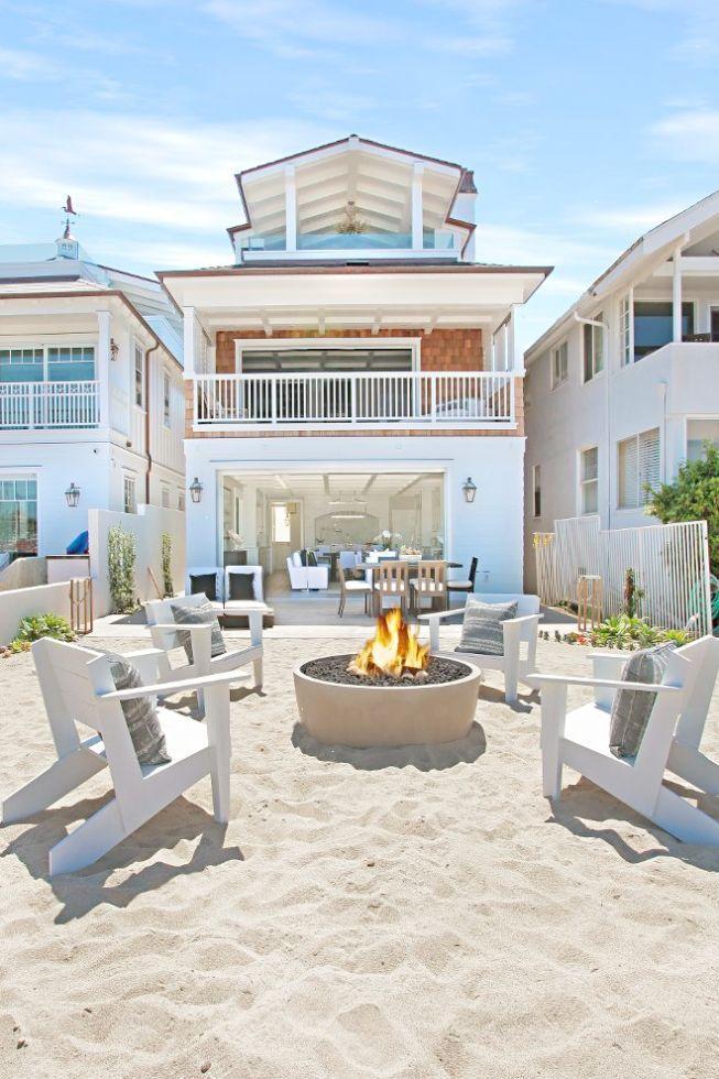 Coastal Cottage Kitchen Design Pinterest California Beach House