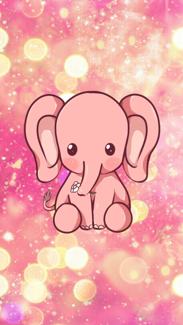 Cute elephant Elephant wallpaper, Elephant phone