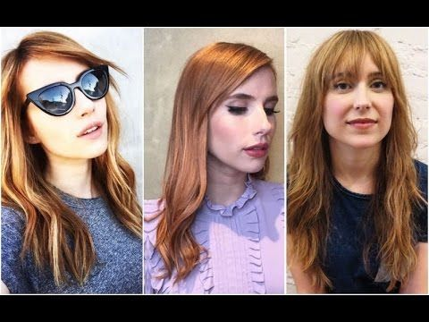 How to get rose gold hair color on brunettes ❤ How to do rose gold hair