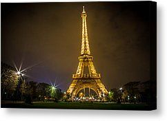 Night time in Paris...prints now available from my Artists Website.