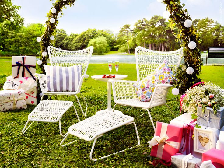 Outdoor Armchairs   Shabby Chic X