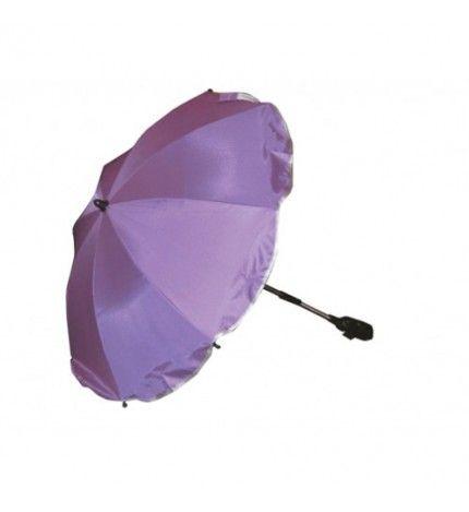 Parasolka do wózka z filtrem UV Kees fioletowy