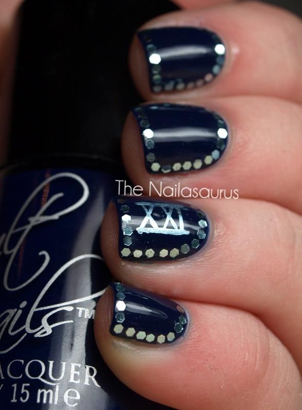 21st birthday nails: Polish Art, Nails Art, 21St Bday, Nail Polish, Cute Ideas, 21St Nails, 21St Ideas, Nails Polish, 21St Birthday Nails