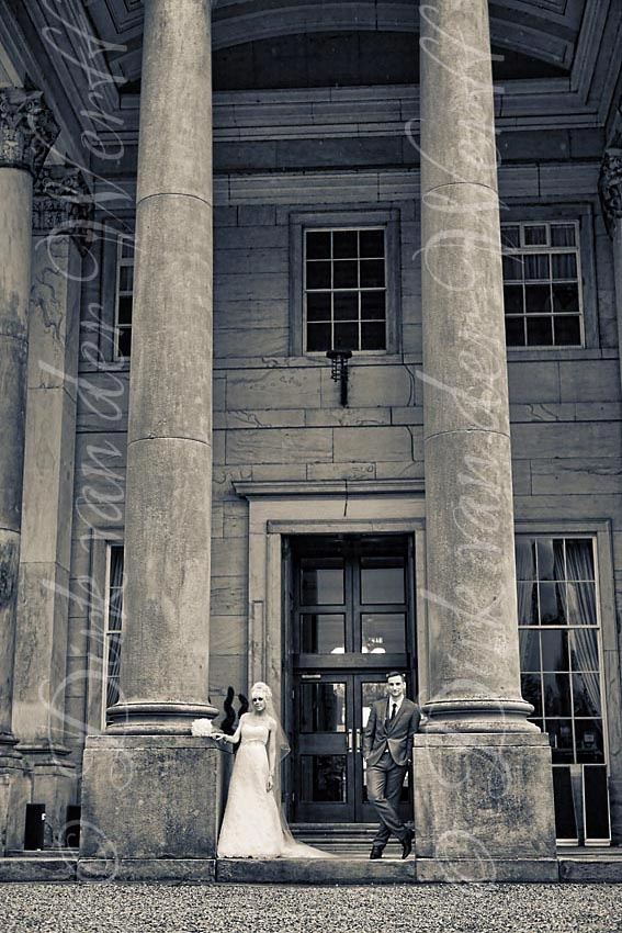 WYNYARD HALL WEDDING, ENGLAND