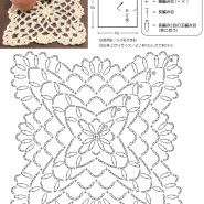 [꽃모티브뜨기] 하마나카社가 매달 예쁜 꽃모티브를 추천 일본 하마나카社가 공개한 예쁜 꽃모티브 도안입...