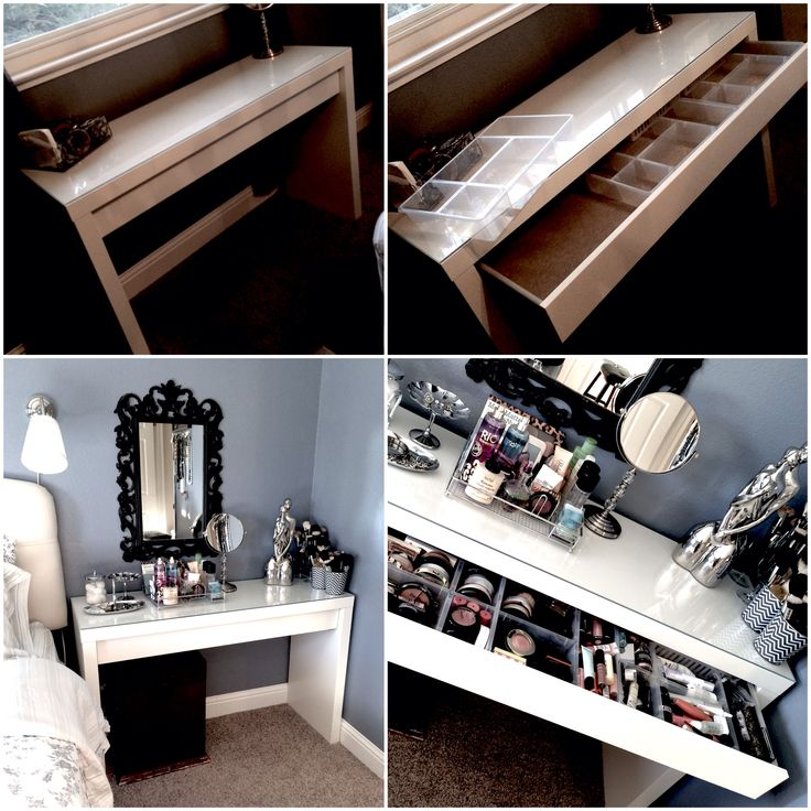 17 best ideas about ikea vanity table on pinterest - Amenagement dressing ikea ...