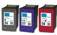 Buy #56, #57, #58 Ink Cartridge 3PK - 1B/1C, 1 Photo for HP at LAinks.com. We offer to save 30-70% on ink and toner cartridges. 100% Satisfaction Guarantee.
