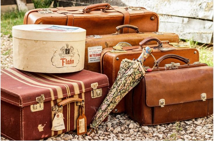 Maletas antiguas old antiques suitcases orient express - Maletas antiguas decoracion ...