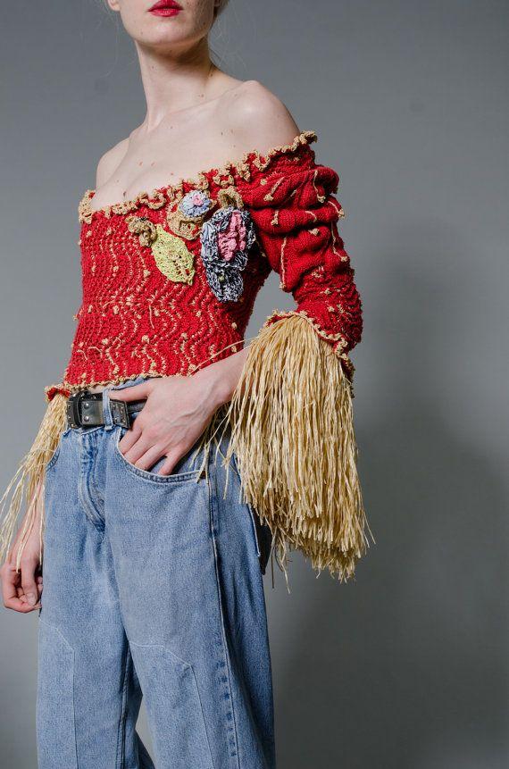Vivienne Westwood Liberty Knit Corset by MODERNARCHIVEVINTAGE