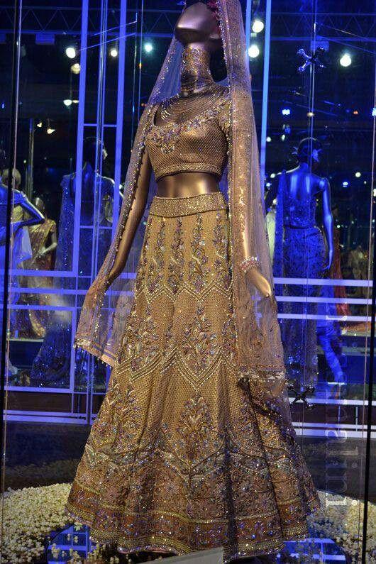 Tarun Tahiliani #Swarovski Crystal #wedding #lehenga