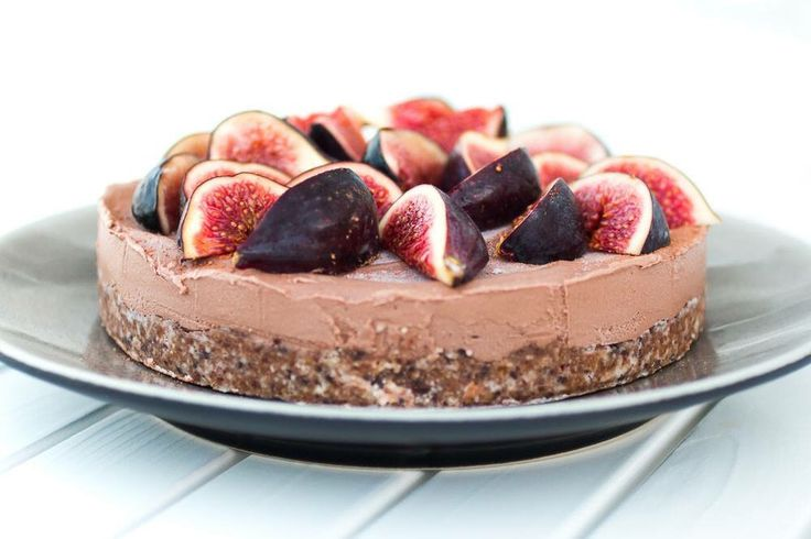 Raw fig tart,  suger-free & Glutenfree