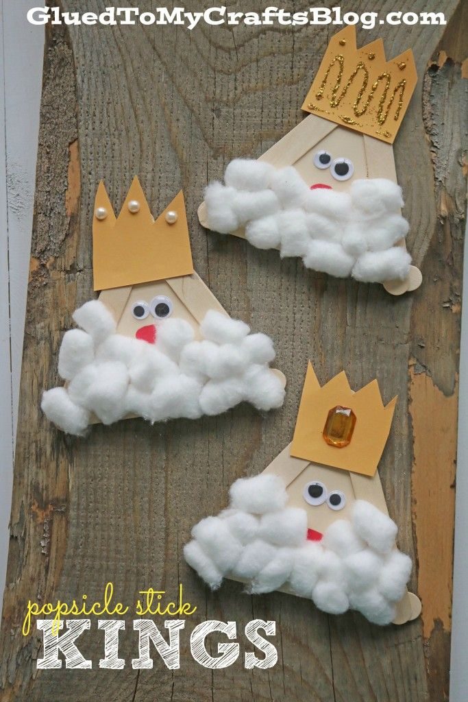 Popsicle Stick Kings - Kid Craft