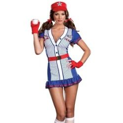 baseball player girl halloween costume - Baseball Halloween Costume For Girls