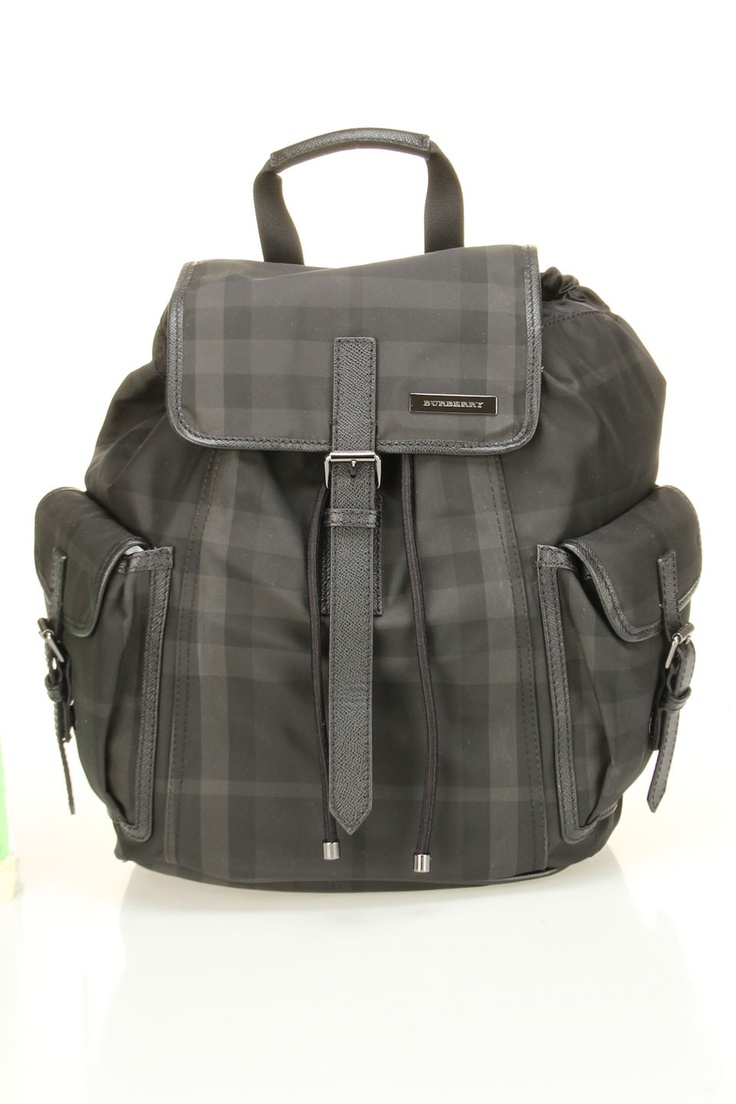 Burberry Men's Beat Small Penkill Backpack In Black