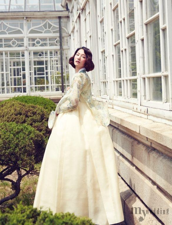 My wedding_ 은은한 빛깔에 예스러움이 어우러진 한복 우아한 彩色