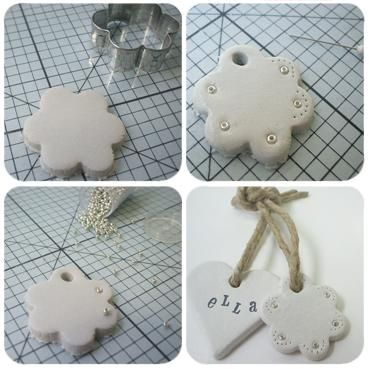 Xmas ornaments... I am thinking salt dough, some rubber stamping, cookie cutters, beads and some finishing coat