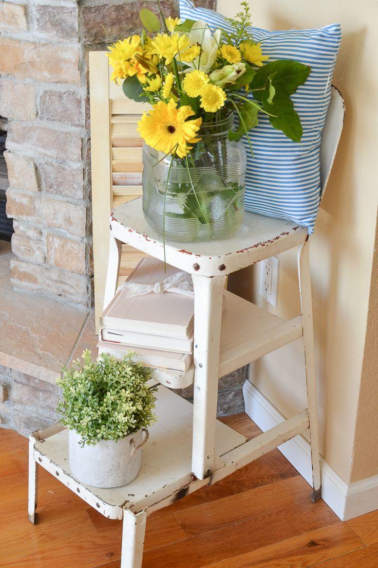 Farmhouse Living Room for Summer
