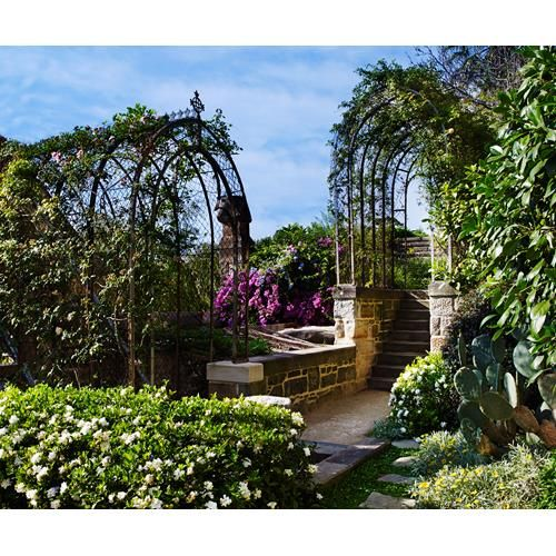 This garden in Sydney's Annandale was built in 1882 by John Young in a failed attempt to encourage his wife to move from England to Australia.
