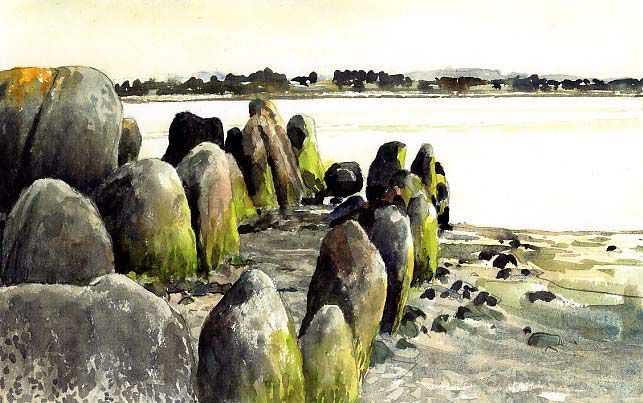 Allée couverte (Finistère, oct 08)