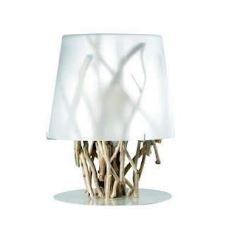 LAMP KIINAU WHITE Bleu Nature Reuses Existing Materials And Goes Beyond  Simple Ecological Awareness, Creating An Aesthetic Collection.
