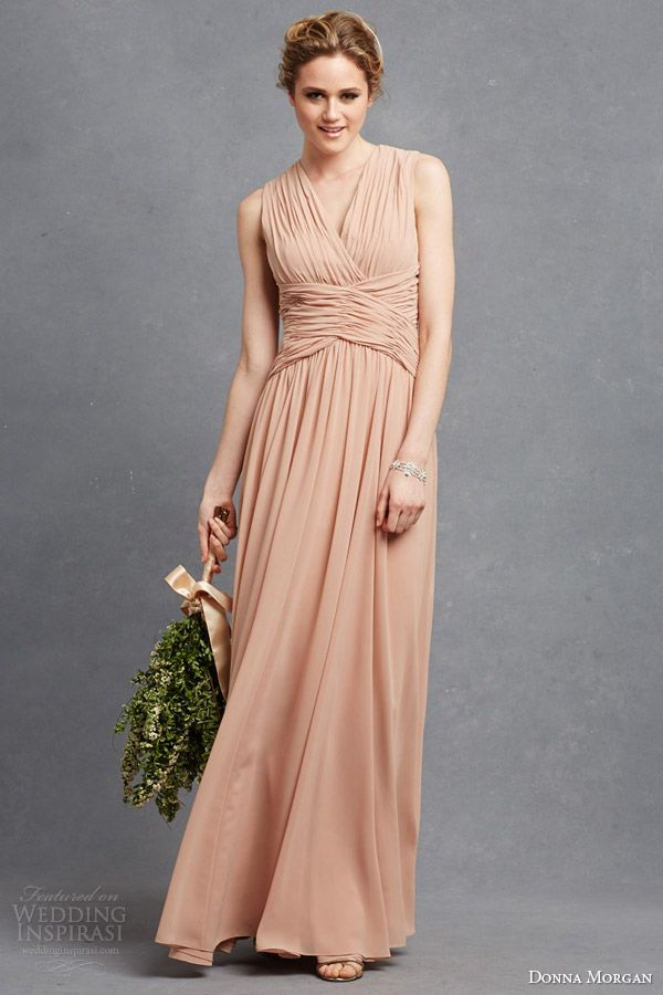 Donna Morgan Collection — Serenity Collection   Wedding   dont like the dress, but like the unusual bouquet