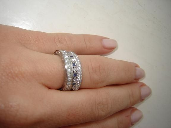 stacked eternity bands pricescope things that sparkle