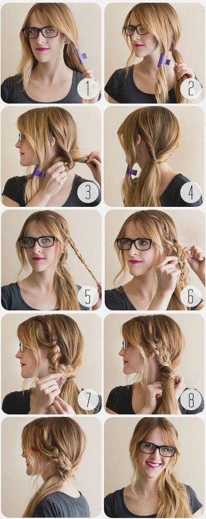 Quick Hairstyles For School 111 Best Hair Styles Images On Pinterest  Casual Hairstyles Cute