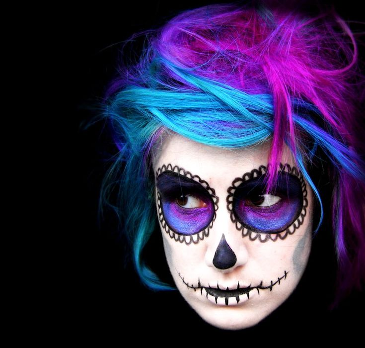 Possible Halloween Idea. Candy Skull