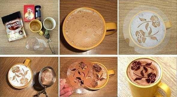 Шедевр в чашечке кофе