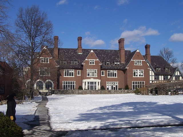 Sarah Lawrence College in Bronxville, New York.  This building is called Westlands, and this is where Alice Pearce roomed for part of her four years at SLC.  She graduated in 1940.