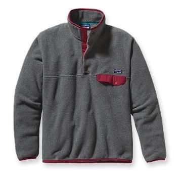 Excursion, the classic fleece outerwear - Patagonia Men's Lightweight Synchilla® Snap-T® Fleece Pullover