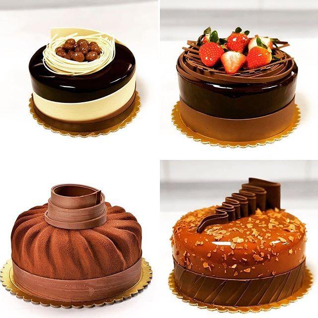 Download Galaxy Chocolate Cake Design