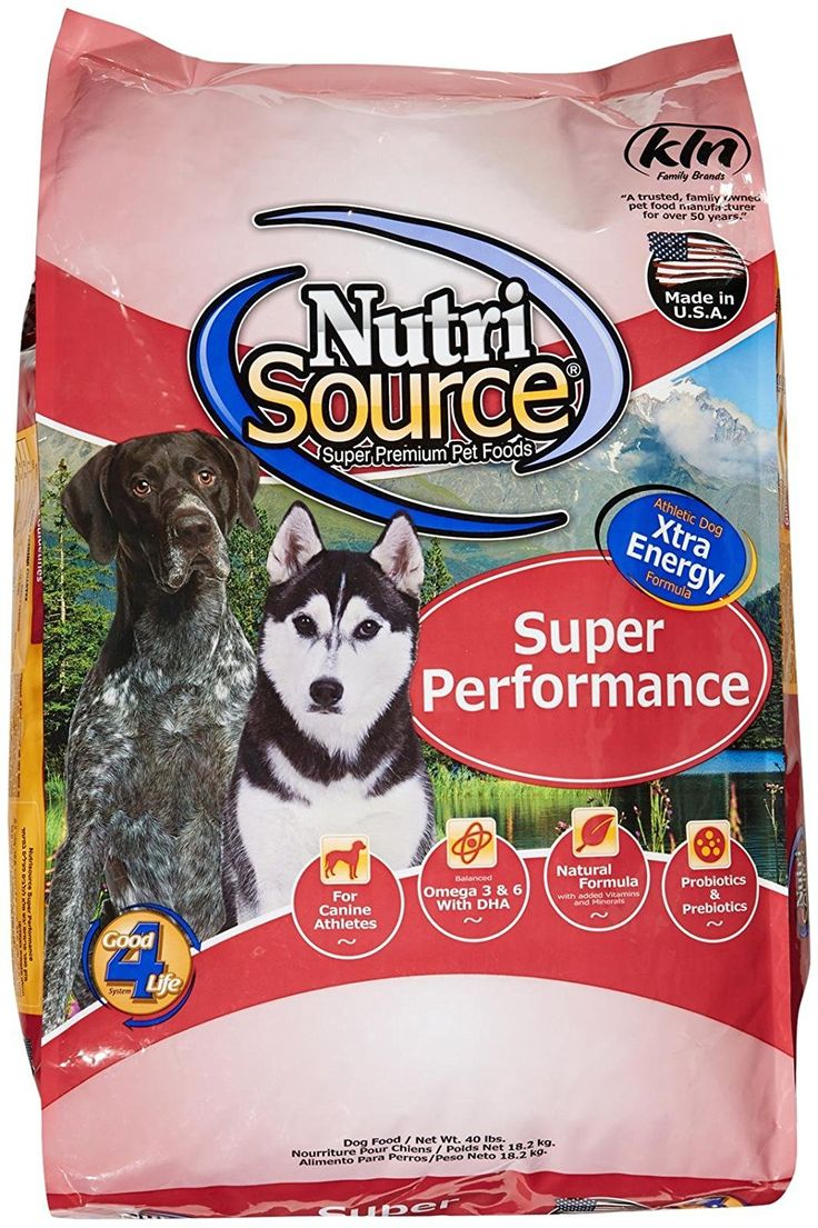 Tuffy's Pet Food 131529 Nutrisource Super Performance Dry