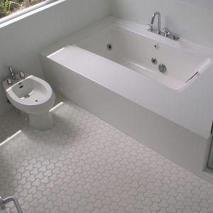 Unusual Bathroom Flooring Ideas