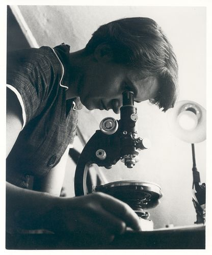 """Scientist Rosalind Franklin made the first clear X-ray images of DNA's structure. Her work was described as the most beautiful X-ray photographs ever taken. Franklin's 'Photo 51' informed Crick and Watson of DNA's double helix structure for which they were awarded a Nobel Prize. Franklin died of ovarian cancer in 1958, aged 37, her contribution to DNA's discovery story unacknowledged."""