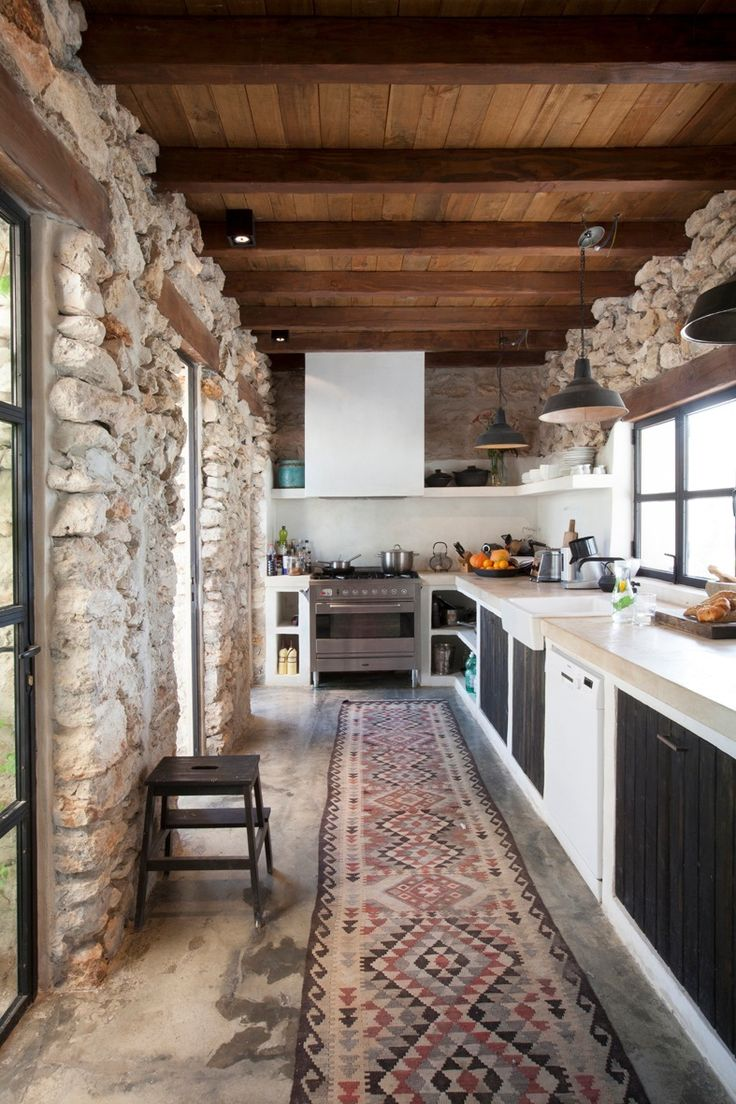 Small Rustic Kitchen Images