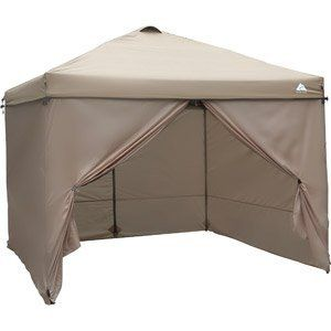 OZARK TRAIL 10' X 10' PATIO LAWN GARDEN FURNITURE WIND CURTAIN TAN by WIND CURTAIN At The Neighborhood Corner Store. $116.34. Durable polyester Includes six steel stakes. For use with the 10' x 10' Ozark Trail Gazebo (sold separately). Aluminum hooks and rings and quick clips provide easy assembly. Large zippered front and rear entrances allow for easy access. Ozark Trail 10' x 10' Gazebo Curtains are a good choice for those who want to bring some form of shelter to...
