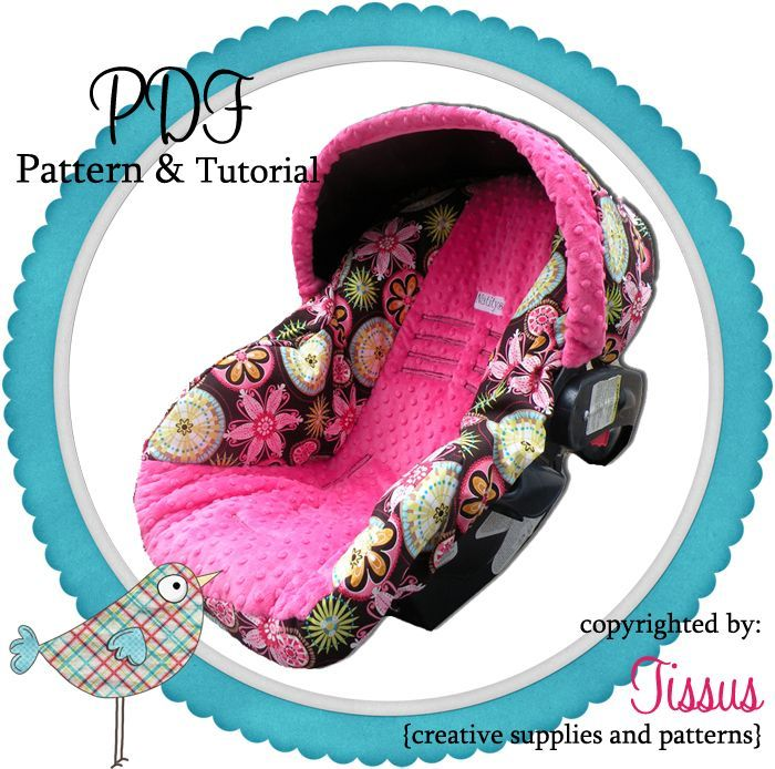 Natitys Design Pdf Boutique Infant Car Seat Pattern For The Graco Snugride Baby Car Seats Infant Car Seat Cover Carseat Cover
