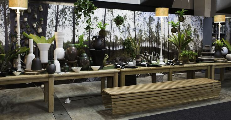 The amazing Long Table by Art in the Forest at 100% Design South Africa