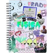 Resultado de imagen para portadas de cuadernos de tareas tumblr facil