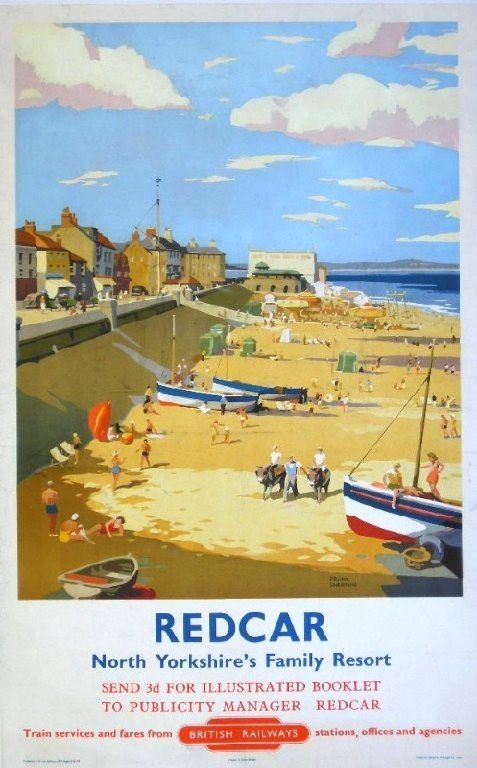 G. W. R. British Railways travel poster