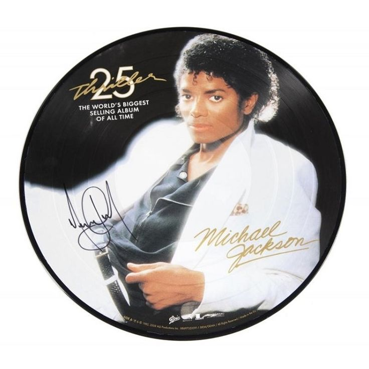 Michael Jackson Thriller on Picture Disc Vinyl LP Originally released in November 1982 on Epic Records, Michael Jackson's sixth solo album and second with producer Quincy Jones, rocketed the former ch