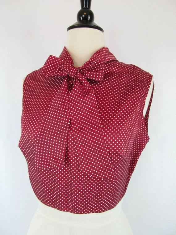 Vintage 1960s Red and White Polka Dot by PerfectlyPoshVintage, $20.00