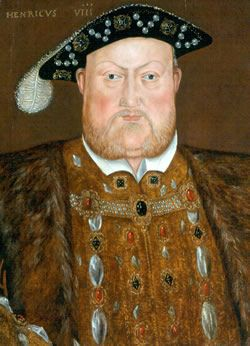 Henry VIII Heath problems:  Age 45: Jousting accident: Falls from horse, is squashed by the weight of his armour, the horse falling on him and the weight of his horses armour. He is unconscious for two hours. This may have caused frontal lobe damage and seriously worsened the ulcers upon his legs. He becomes obese and may have had type two diabetes and raised blood pressure.He would have became a massively overweight, comfort eating, paranoid, cruel, tyrannical man with mood swings.