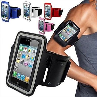 sală de gimnastică maylilandtm sport rulează capac caz banda braț banderolă pentru iPhone 5 / 5s (culori asortate) – USD $ 3.99