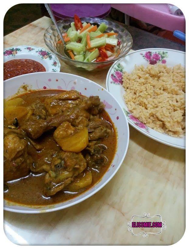 Resepi Nasi Minyak Ayam Gulai