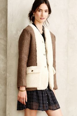Women's Outfits 2017/2018   :    Anna Studio Saint Remy Boucle Cardigan #anthrofave   https://greatmag.net/fashion/outfits/trendy-womens-outfits-2017-2018-anna-studio-saint-remy-boucle-cardigan-anthrofave/