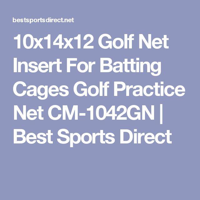 10x14x12 Golf Net Insert For Batting Cages Golf Practice Net CM-1042GN | Best Sports Direct
