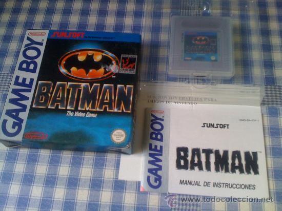 Batman Juego para Nintendo Gameboy Clásica Completo Versión Española Nuevo